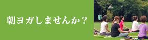 ロハス・ムーンの朝ヨガ(朝活)